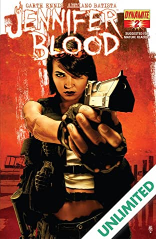 Garth Ennis' Jennifer Blood #2